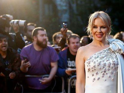 La cantante Kylie Minogue, en Londres el pasado 13 de noviembre.