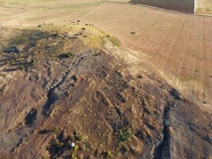 Mina de la Loba, de donde los habitantes de Melaria extraían cobre y plomo.