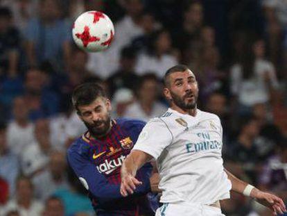 El central del Barcelona se rinde ante el nivel que demuestra el conjunto de Zidane