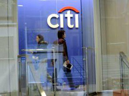 Vista de una sucursal de Citibank en Nueva York, EE.UU.. EFE/Archivo
