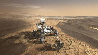 El rover Perseverance, que posará sus ruedas en Marte este 2021