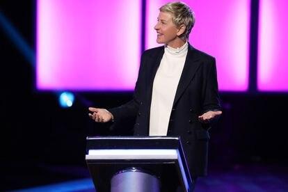 Ellen DeGeneres en un momento de la cuarta temporada de 'Ellen's Game of Games'.