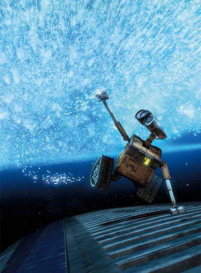 Fotograma de la película <i>WALL·E,</i> el nuevo producto de Pixar.