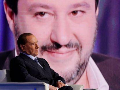 Berlusconi y Salvini: razza superiore.
