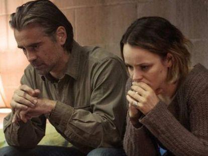 Colin Farrell y Rachel McAdams, en 'True Detective'.