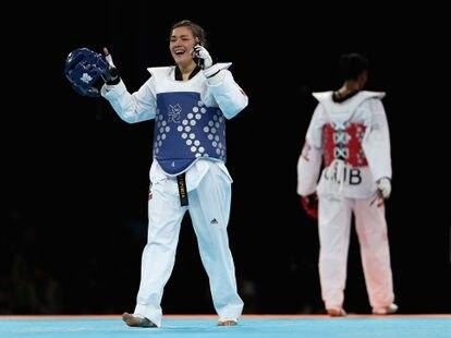María del Rosario Espinoza, durante su participación en los Juegos Olímpicos de Londres 2012.