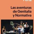Portada de 'Las aventuras de Genitalia y Normativa', de Eloy Fernández Porta.