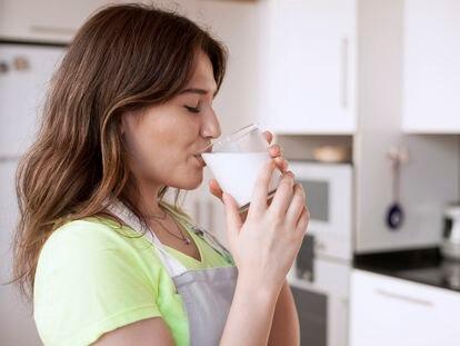Un vaso de leche que ayuda a tus defensas