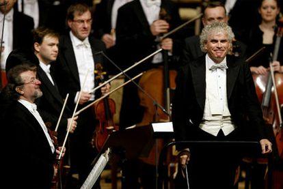Simon Rattle, actual director de la Filarmónica de Berlín, en 2010.