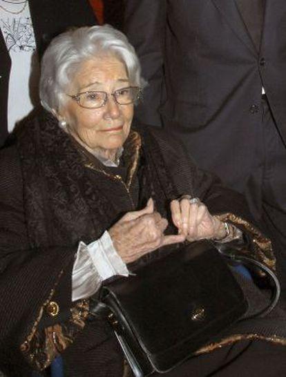 Emmanuella Dampierre, en una imagen 2008.