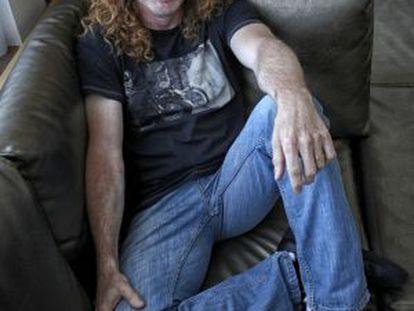 Dave Mustaine, cantante de Megadeth.
