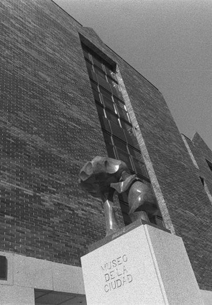 Fachada del Museo de la Ciudad, en 1997.