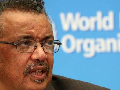 El director general de la OMS, Tedros Adhanom.