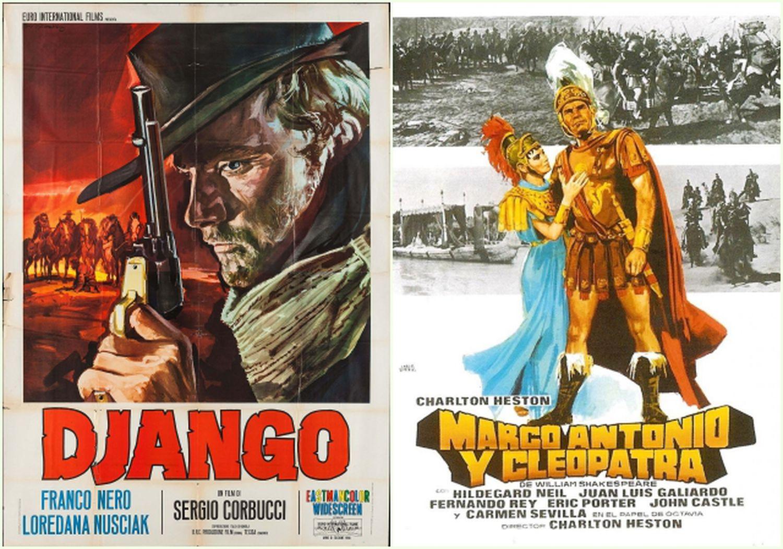 'Django' y 'Marco Antonio y Cleopatra', dos de los títulos de la colección