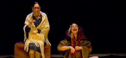Un momento de la obra de teatro 'Las princesas del Pacífico'.