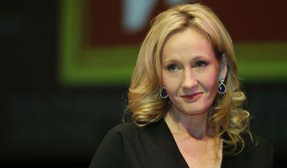 La escritora J K Rowling.