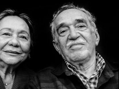 Mercedes Barcha Pardo y Gabriel García Márquez en Los Ángeles en 2008.