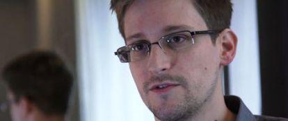 Edward Snowden el 10 de junio de 2013.