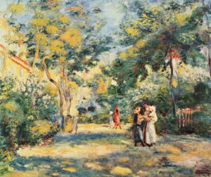 'Un jardín en Montmartre'