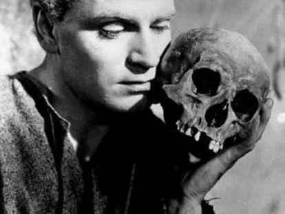 'Hamlet', en la mítica encarnación de Laurence Olivier para el filme del mismo nombre de 1948.