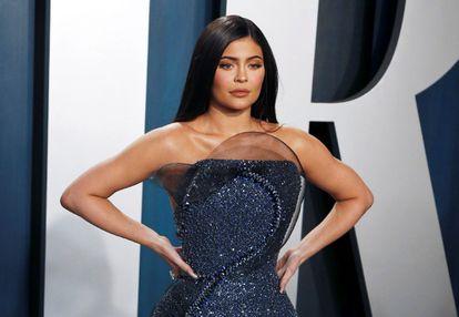 Kylie Jenner, en una de las fiestas tras la gala de los Oscar, celebrada en Los Ángeles (California, EE UU), el pasado febrero.