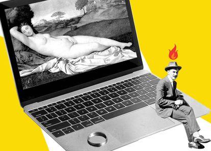 """La experta en relaciones Melanie Chilling incluyó en los sospechosos de """"microcuernos"""" a """"cualquier persona que esté teniendo conversaciones privadas a través de Internet y apague rápidamente el ordenador cuando su pareja entra en la habitación"""""""