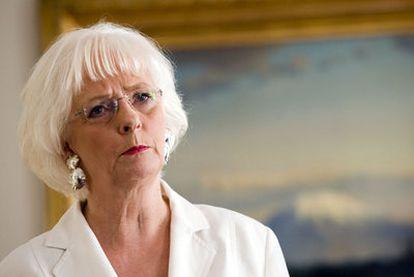 Jóhanna Sigurdardóttir, primera ministra islandesa desde 2009. Su Gobierno ha reflotado la economía y defiende la igualdad.