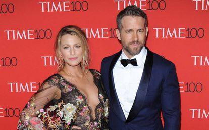 Los actores Blake Lively y Ryan Reynolds.
