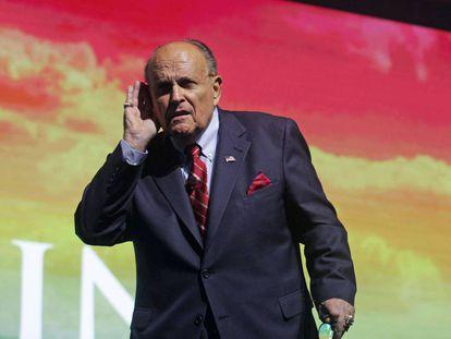El exalcalde de Nueva York Rudy Giuliani.