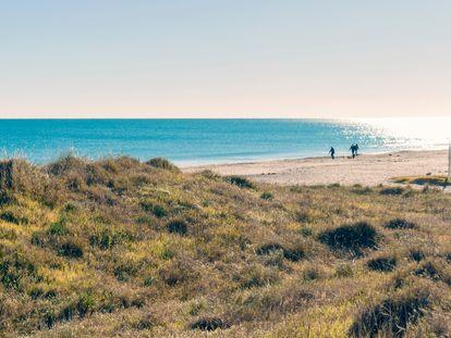 Una parte del litoral valenciano que está sin urbanizar.