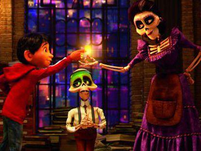 Disney y Pixar estrenan en el Festival de Morelia Coco, una cinta animada sobre las tradiciones mexicanas del Día de Muertos