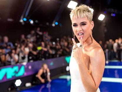 Katy Perry en los MTV Video Music Awards la semana pasada en Los Angeles