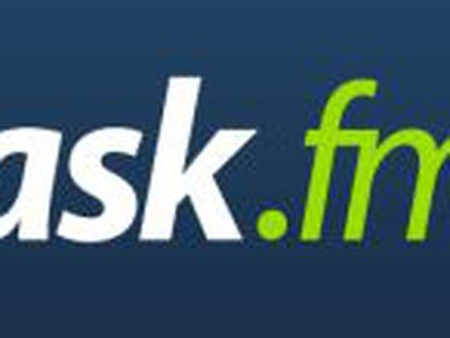 Logo de la red social letona ask.fm
