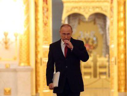 Con una popularidad tocada y una relación tensa con Occidente, el presidente ruso afronta un año clave para su legado y su posible sucesión