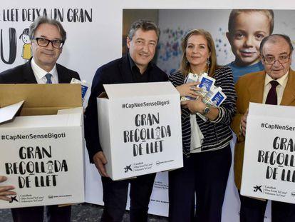 Marc Simón, Joan Roca, Marta Peris y Frederic Gómez Pardo.