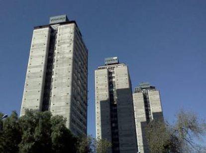 La Unidad Nonoalco Tlatelolco, en el centro de Ciudad de México.