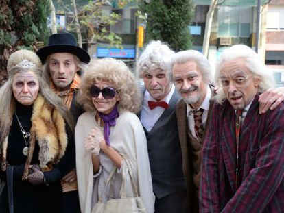 Los actores del musical 'Forever Young'