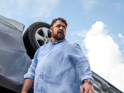 Russell Crowe en 'Salvaje' (2020).