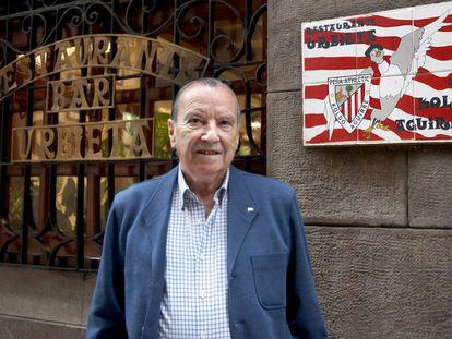 Koldo Aguirre, jugador y entrenador rojiblanco que ha fallecido a los 80 años.