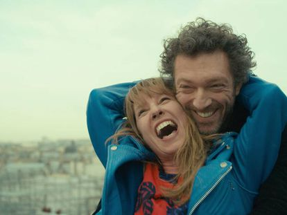 Emmanuelle Bercot y Vincent Cassel, en el filme.