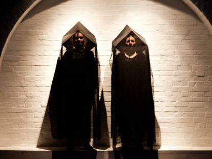 Dos de los intérpretes de 'Leviathan'.