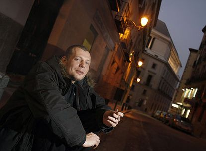 El músico británico Matt Elliott, fotografiado en Madrid.