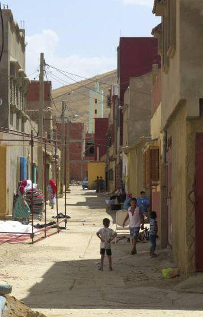 Barrio de Tahayauit en Mirt (Marruecos), el pueblo natal de los hermanos Abouyaqoub y los Hychami.