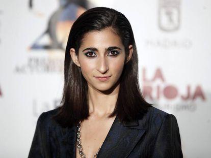 Alba Flores, durante los premios de la Unión de Actores en Madrid, el pasado marzo.