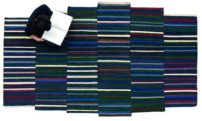 Diseño de alfombra Lattice de la marca Nanimarquina.