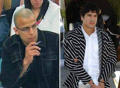 Rafá Zouhier (a la izquierda) y Abdelmajid Bouchar.