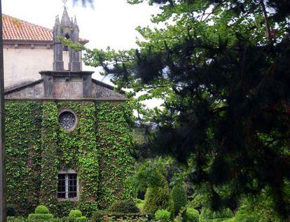 Pazo de Xaz, en Oleiros, que será sede del campo de golf de la urbanización que proyecta Jove.