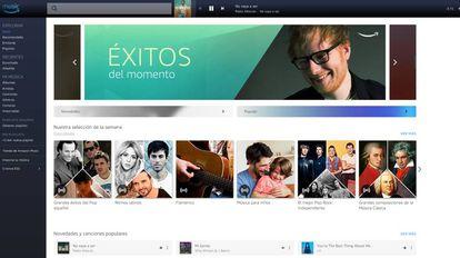 Music Unlimited, el servicio de Amazon para competir contra Spotify.