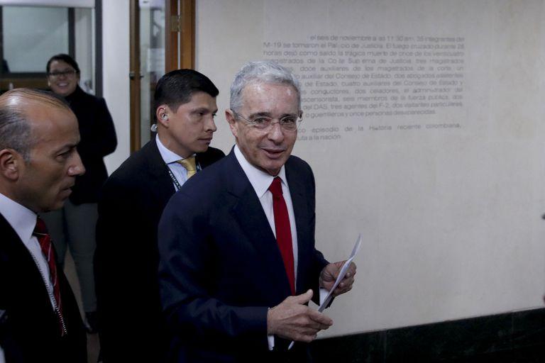 El expresidente de Colombia, Álvaro Uribe, en una imagen de 2019.