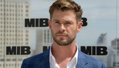 Chris Hemsworth, en la presentación de 'Men In Black' en Londres.
